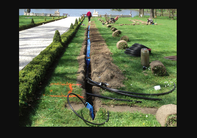 nawadnianie ogrodu i tarasu